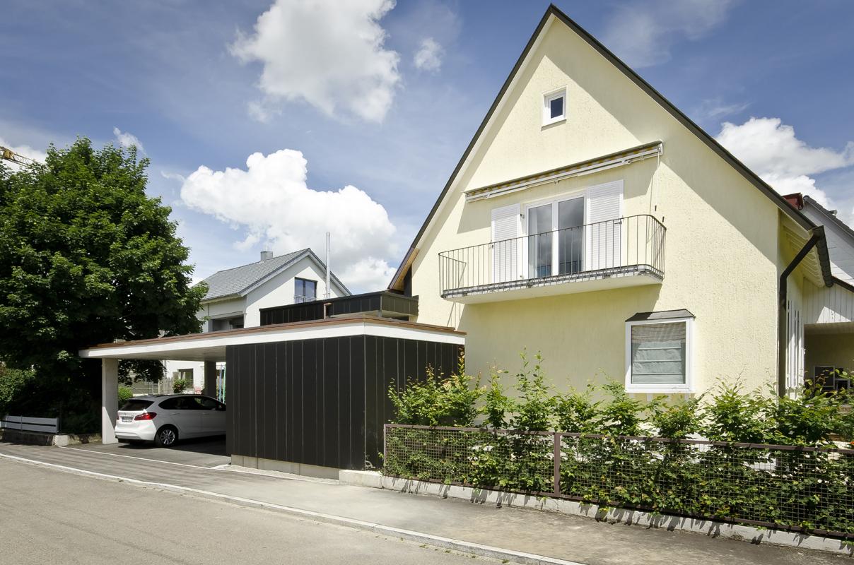 Anbau einfamilienhaus leutkirch roterpunkt architekten for Raumaufteilung einfamilienhaus neubau