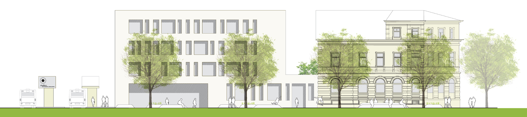 postquartier ravensburg roterpunkt architekten. Black Bedroom Furniture Sets. Home Design Ideas